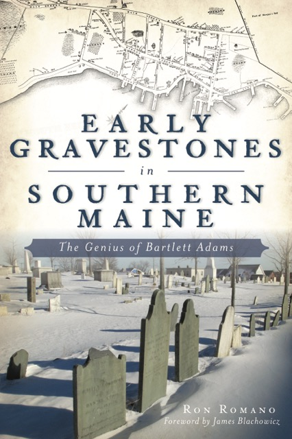 Bartlett Adams Gravestones book cover by Ron Romano