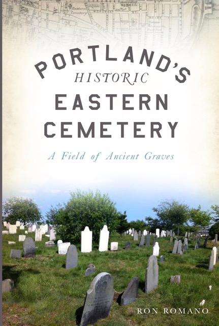 Bartlett Adams Eastern Cemetery book cover by Ron Romano