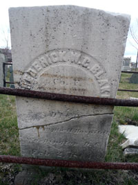 Gravestone of Frederick Blake