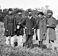 10th Maine Regiment Officers Portrait