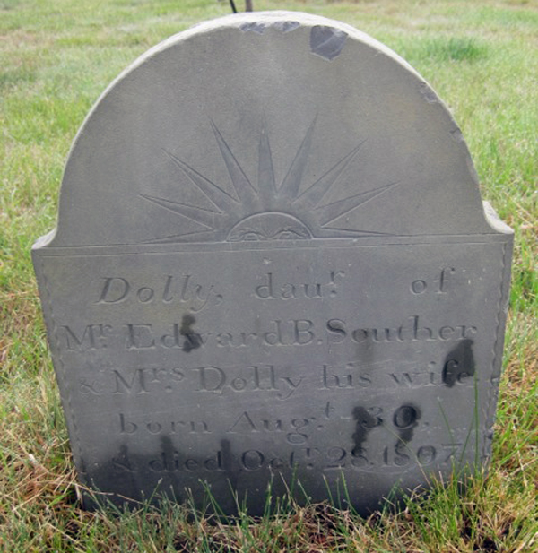 Dolly Souther headstone