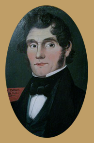 Thomas Bolton Painted Portrait