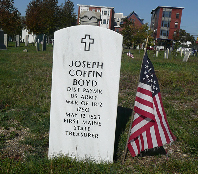 Boyd's tombstone