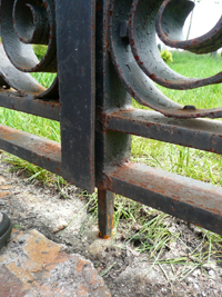 new pin for gate lock