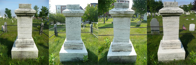 4 sides of a monument